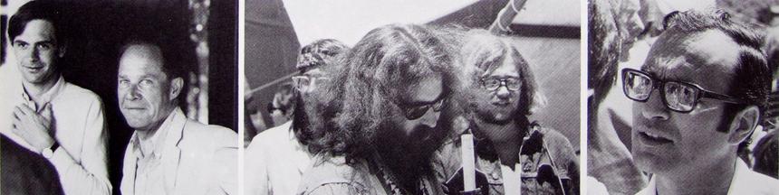 Eliot Noyes & Éric Lecomte, visages de la Hog Farm, André Fischer.