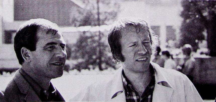 Jean Baudrillard & Jean Aubert.