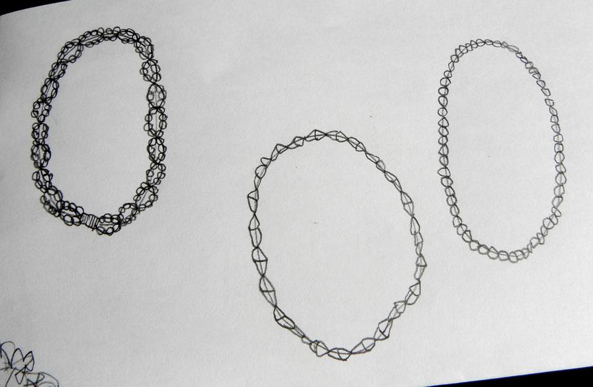 la maman dessine des bracelets