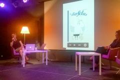Valérie Cussaguet et Fabienne Jourdan