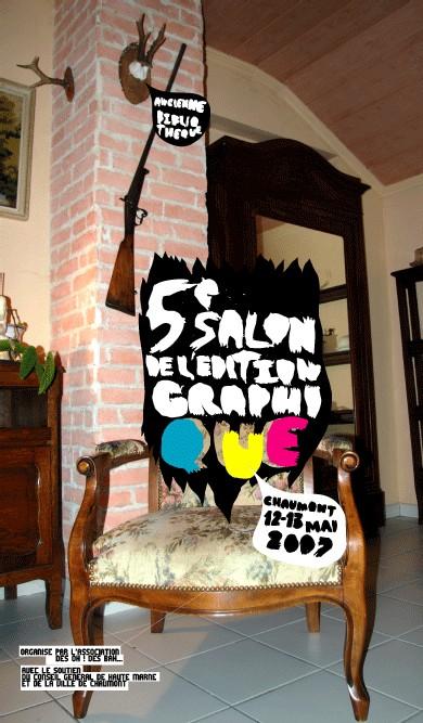 5ème SALON DE L'EDITION GRAPHIQUE