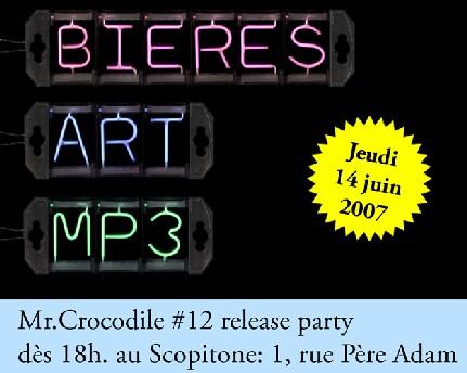 Mr.Crocodile #12 RELEASE PARTY