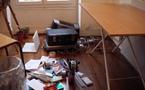 Ce matin, 10:18, installation du nouveau bureau