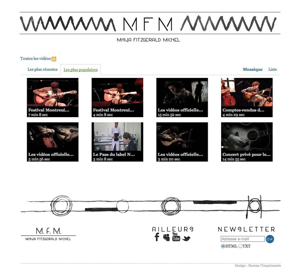 Misja FitzGerald Michel . Site web