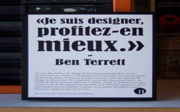 Je suis designer, profitez-en mieux.